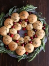 HOLIDAY DINNER ROLL WREATH