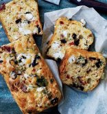 GOATS CHEESE,BACON& OLIVE BREAD copy