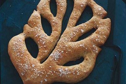 Fougasse recipe   Epicurious.com